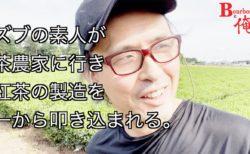 ズブの素人が茶農家に行き、紅茶の製造を一から叩き込まれる。①
